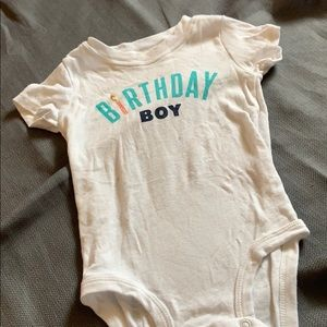 Carter's Birthday Boy Bodysuit